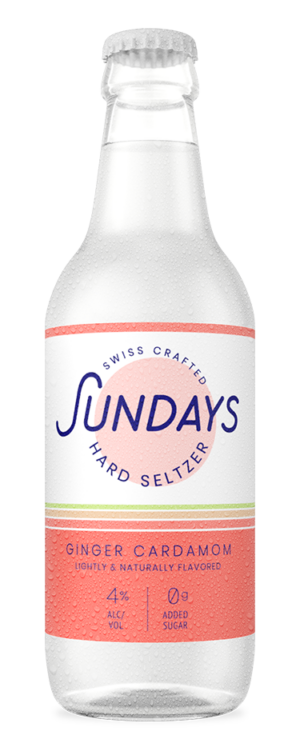 Sunday Hardseltzer Ginger Cardamom 4.0% Vol. 24 x 33cl EW Flasche