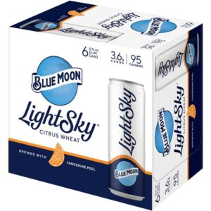 Blue Moon Light Sky 4,0% Vol. 24 x 35,5 cl Dosen Amerika