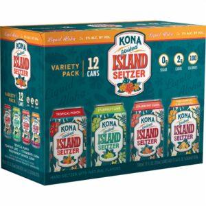 KONA Hardseltzer Variety Pack 5,0% Vol. 24 x 35,5 cl Dosen