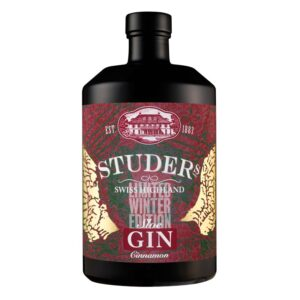 "STUDER's Swiss Highland Sloe Gin ""Cinnamon"" 26,6% Vol.  70 cl"
