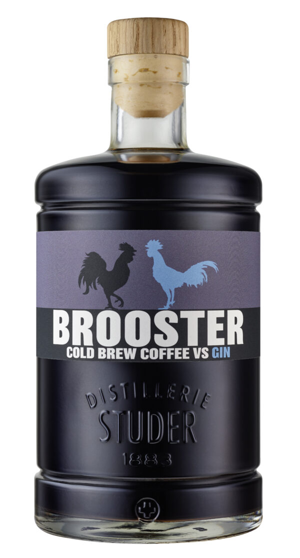 Brooster, Cold Brew Coffee vs. Gin 35% Vol. 50 cl