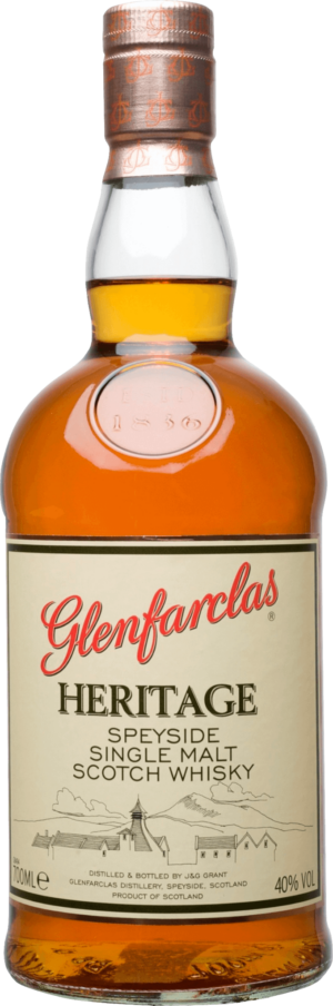 Glenfarclas Heritage Single Malt Whisky 40% Vol. 70 cl