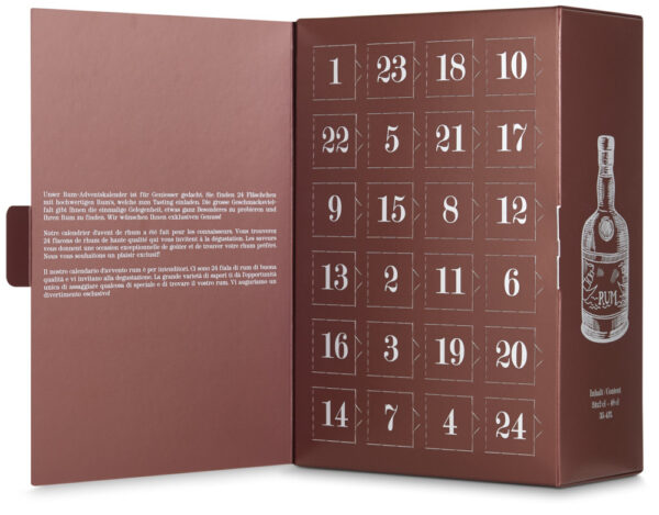 Rum Adventskalender  24 x 2 cl