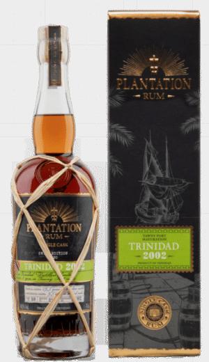 Rum Plantation Trinidad Single Calsk Ed. 20 Port Tawny 2002 48% Vol. 70 cl