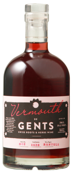 Gents Vermouth rot 18.5% Vol. 70cl Italien