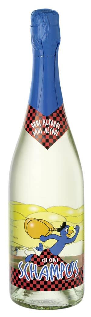 Globi Schaumwein alkoholfrei 75cl