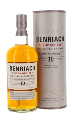 Whisky BenRiach 10 years old Smoky Ten 46% Vol. 70cl