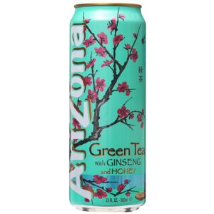 AriZona Green Tea with Honey 12 x 50 cl Dosen