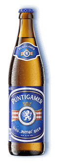 """Puntigamer """"das Bierige Bier"""" 5,1% Vol. 20 x 50cl MW Flasche"""