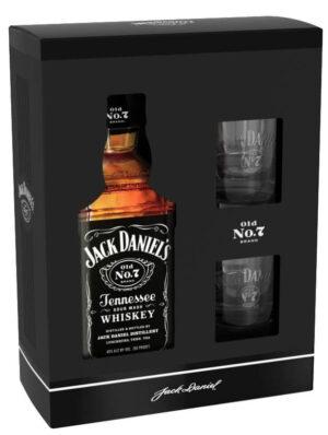 Jack Daniel's Old No.7 mit 2 Gläser 40% Vol. 70cl