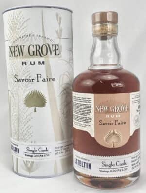 Rum New Grove Savoir-Faire 50% Vol. 70cl Mauritius
