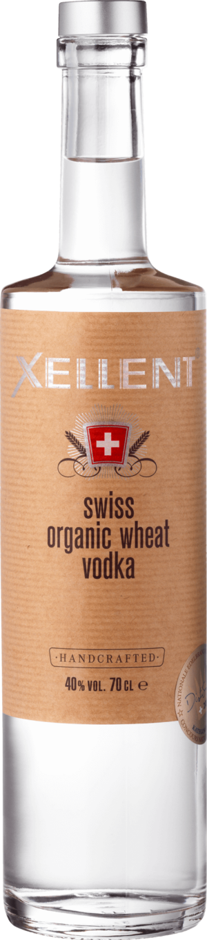 Vodka Xellent Swiss Organic Wheat 40% Vol. 70cl