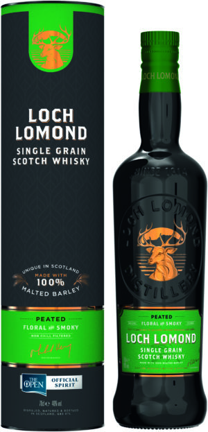 Loch Lomond Single Grain, Floral & Smoky 45% Vol. 70 cl Scotland