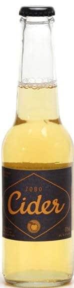 Zobo Bio Cider 6.3% Vol. 20 x 27,5 cl EW Glas