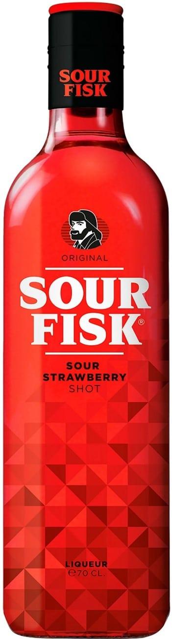 Fisk Sour Strawberry 15% Vol 70cl