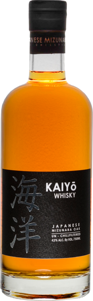 Kaiyo Japanese Pure Malt Minzunara Oak 43% Vol. 70cl Japan