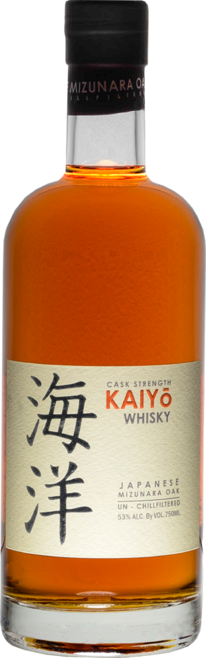 Kaiyo Cask Strenght Pure Malt Minzunara Oak 53% Vol. 70cl Japan