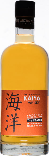 Kaiyo The Peated Pure Malt Minzunara Oak 46% Vol. 70cl Japan