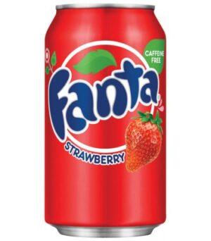 Fanta Strawberry 24 x 35,5 cl Dosen