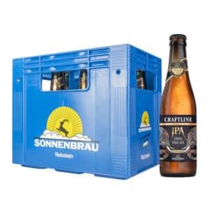 Sonnenbräu Craftline - IPA 6,2% Vol. 10 x 33 cl EW Flasche