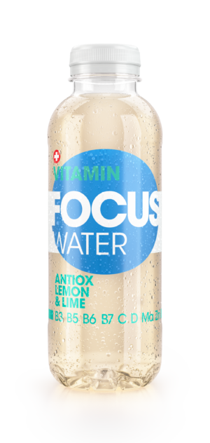 Focus water Lemon Antiox 12 x 50 cl Pet