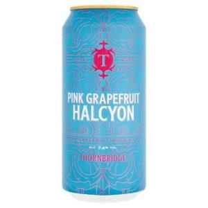 Thornbridge Pink Grapefruit Halcyon 7,4% 12 x 44 cl Dose