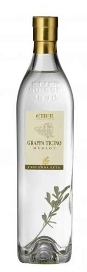 Etter  Grappa Ticino 41% Vol. 35 cl (Altflasche)