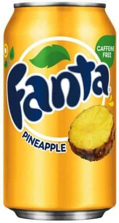 Fanta Pineapple 24 x 35,5 cl Dosen
