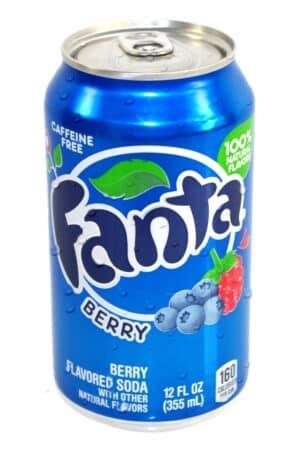 Fanta Berry 24 x 35,5 cl Dosen