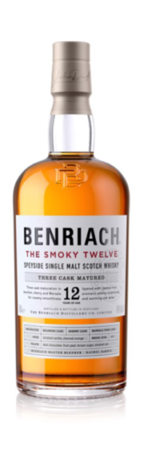 Whisky BenRiach 12 years Smoky Twelve 46,0% Vol. 70 cl