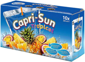 Capri Sonne Tropical 10 x 20cl + 4 gratis