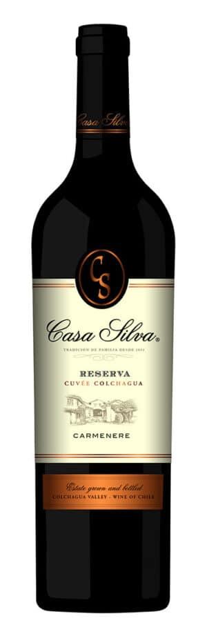 Carmenère Reserva, Casa Silva, Colchagua Valley 14% Vol. 75cl
