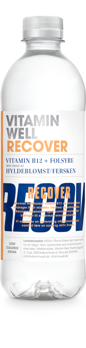 Vitamin Well Recover 12 x 50 cl PET