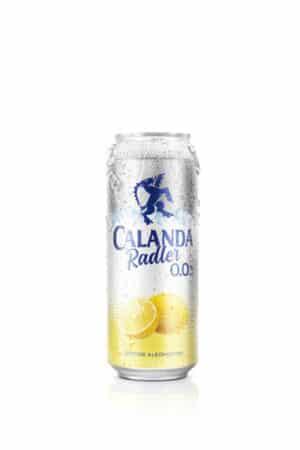 Calanda Radler Zitrone 0.0% Vol. 24 x 50 cl Dose