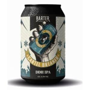 Barter Cartel Breaker Double Dry Hopped IPA 6.5% Vol. 24 x 33 cl Dosen