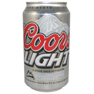 Coors Light 4.2% 12 x 35.5 cl Dosen Amerika