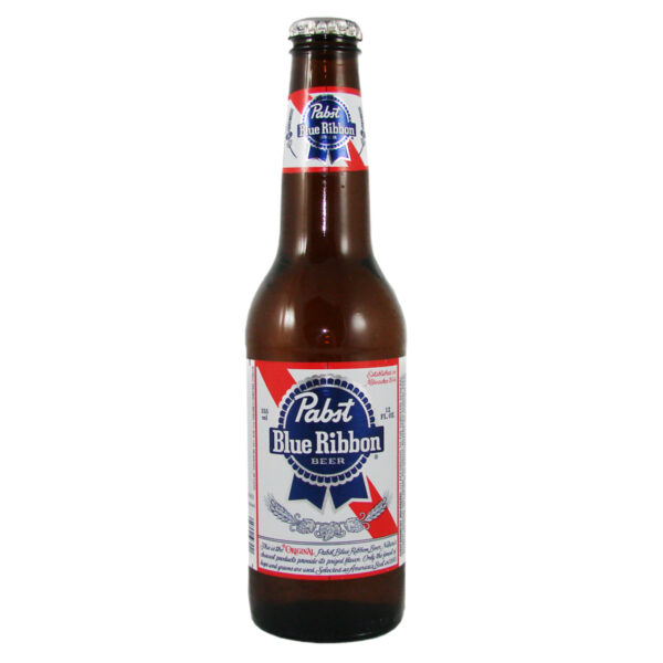 Pabst Blue Ribbon Beer 4,65% Vol. 24 x 35cl EW Flasche Amerika