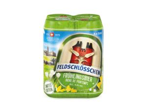 Feldschlösschen Frühlingsbier 4,8% Vol. 24 x 50 cl Dosen (saisonal)
