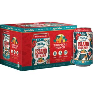 KONA Hardseltzer Tropical Punch 5,0% Vol. 12 x 35,5 cl Dosen