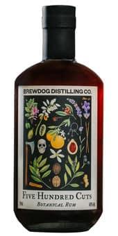 Rum Brewdog 500 Cuts Botanical 40% Vol. 70 cl