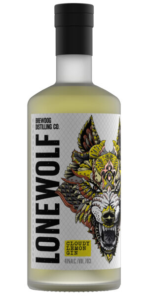 Gin Brewdog Lonewolf Cloudy Lemon 40% Vol. 70 cl