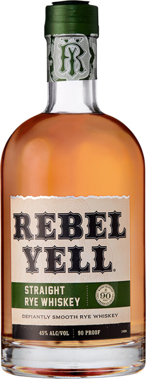 Whisky Rebel Yell Straight Rye 45% Vol 70 cl