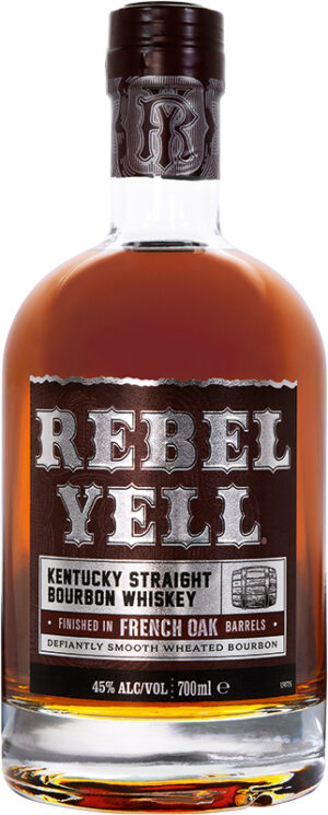 Whisky Rebel Yell Bourbon KSBW French Finish 45% Vol 70 cl