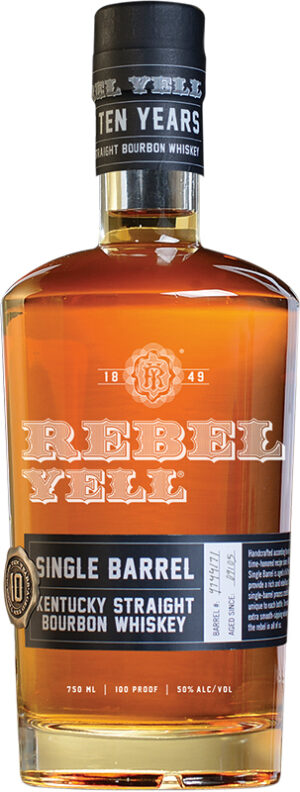 Whisky Rebel Yell 10 yo Single Barrel Bourbon 50% Vol 70 cl