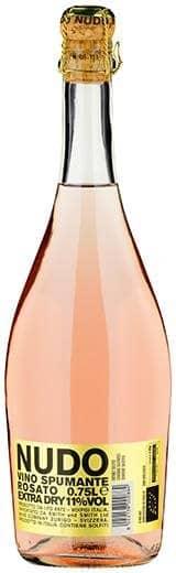 Nudo Spumante Rosato Extra Dry 11% Vol. 75 cl