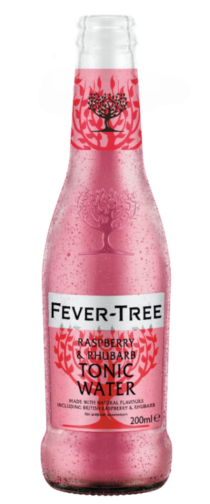 Fever Tree  Raspberry & Rhubarb 24 x 20cl EW Flasche