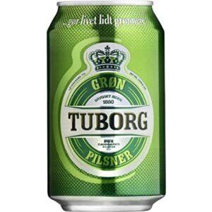 Tuborg Pilsener 4,9% Vol. 24 x 33 cl Dosen