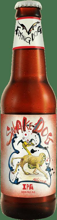 Flying Dog Snake Dog IPA 7.1% Vol. 24 x 35 cl EW Flasche Amerika