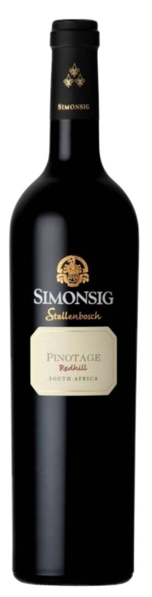 Redhil Pinotage WO Stellenbosch Simonsing 14.5% Vol. 75cl
