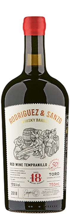 Rodríguez & Sanzo Whisky Barrel DO Toro, Tempranillo 15% Vol. 75cl